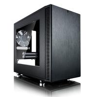Fractal Design Define Nano S ITX Case - Black w/Window