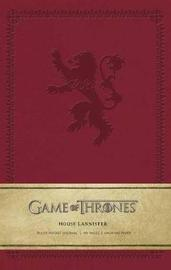 Game of Thrones - House Lannister Ruled Pocket Journal by Insight Journals