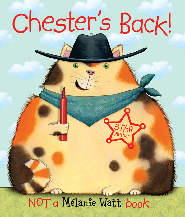 Chester's Back! (Book + CD) by Melanie Watt image