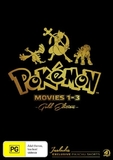 Pokemon: Movies 1-3 - Gold Edition on DVD