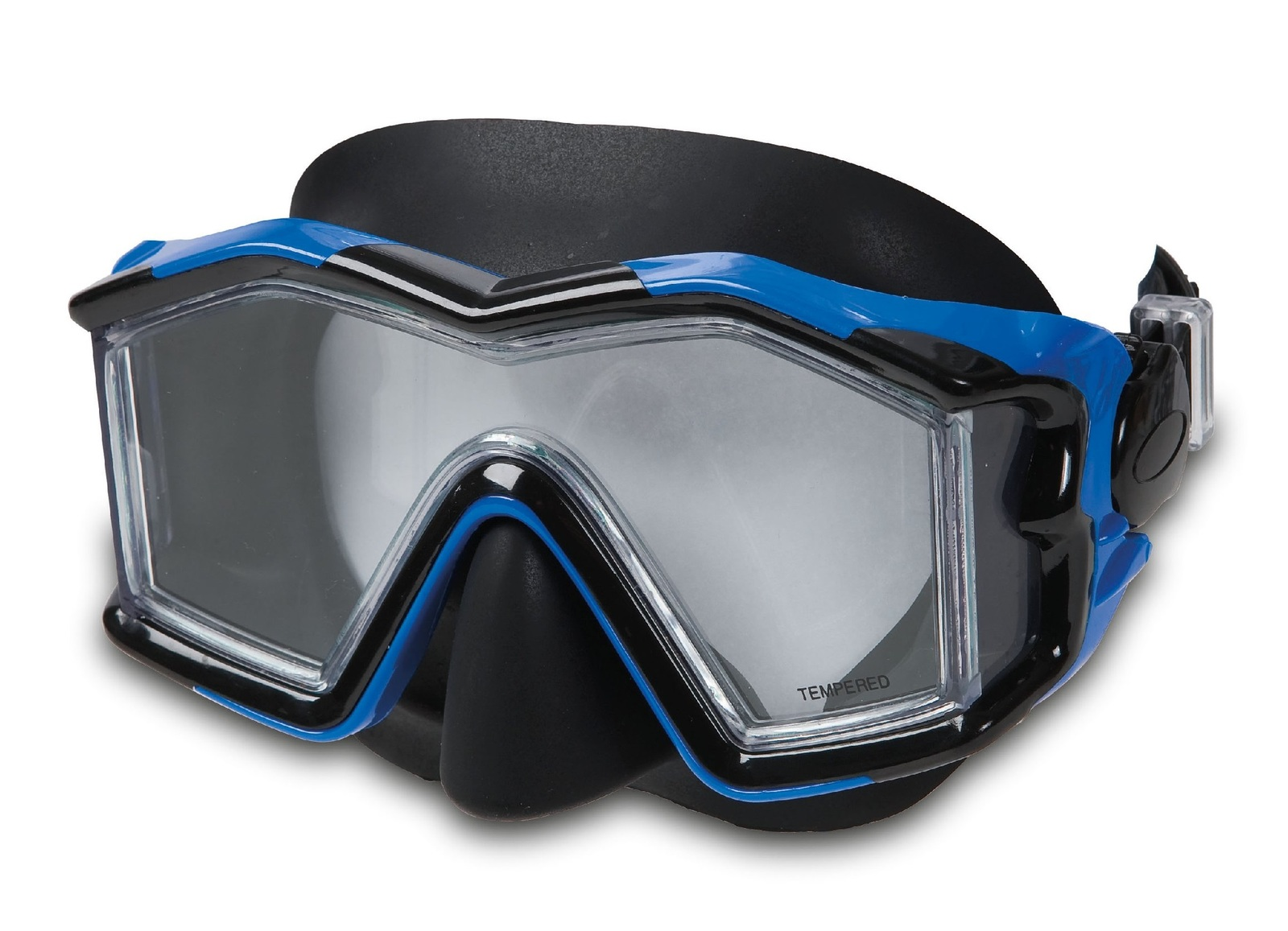 Intex: Explorer Pro - Silicone Mask (Blue) image