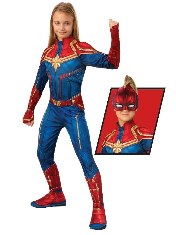 Captain Marvel - Children's Costume (Small)