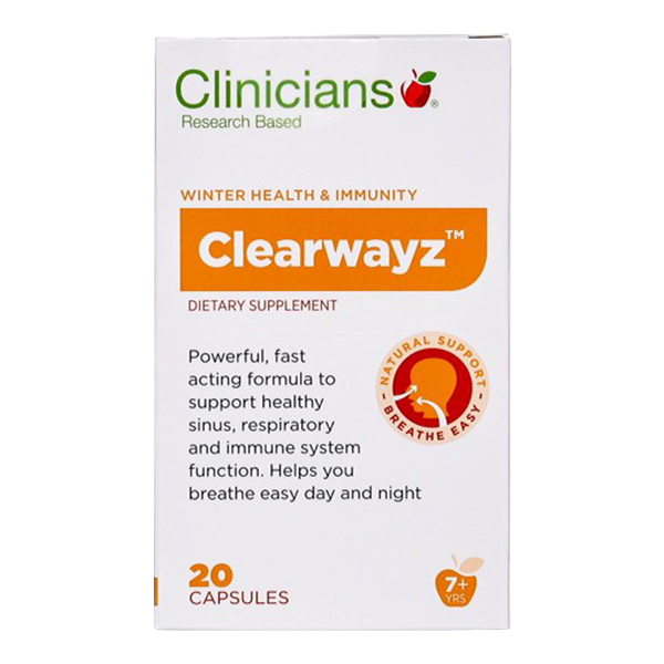 Clinicians Clearwayz Capsules (20s)