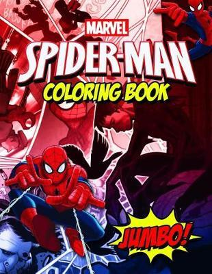 Spiderman Coloring Book by Little Penguin