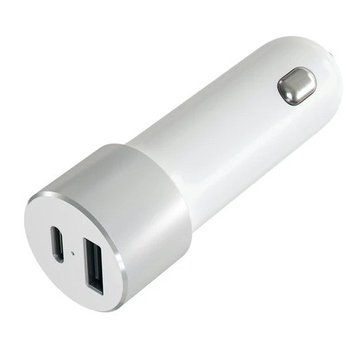 SATECHI: 72W USB-C PD Car Charger - Silver