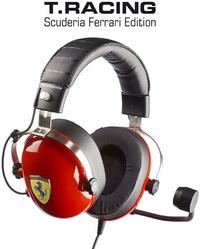 Thrustmaster Scuderia Ferrari F1 Wheel and T Racing Ferrari Headset Bundle for PC, PS4, PS3, Xbox One