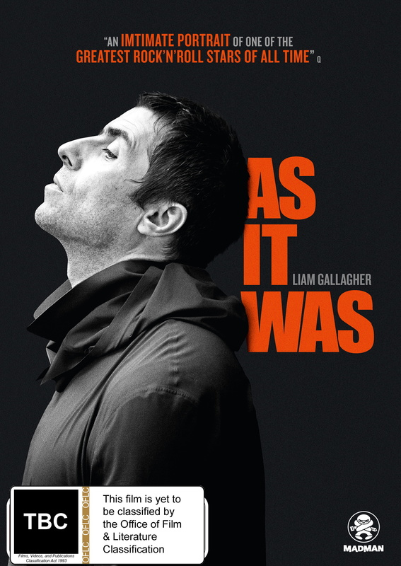 Liam Gallagher: As It Was on DVD