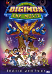 Digimon The Movie on DVD