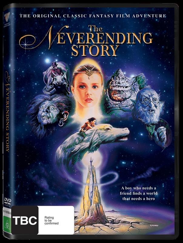 The NeverEnding Story (New Packaging) on DVD