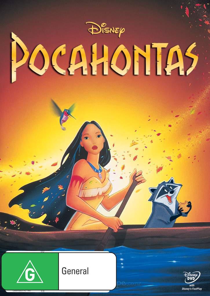 Pocahontas on DVD image