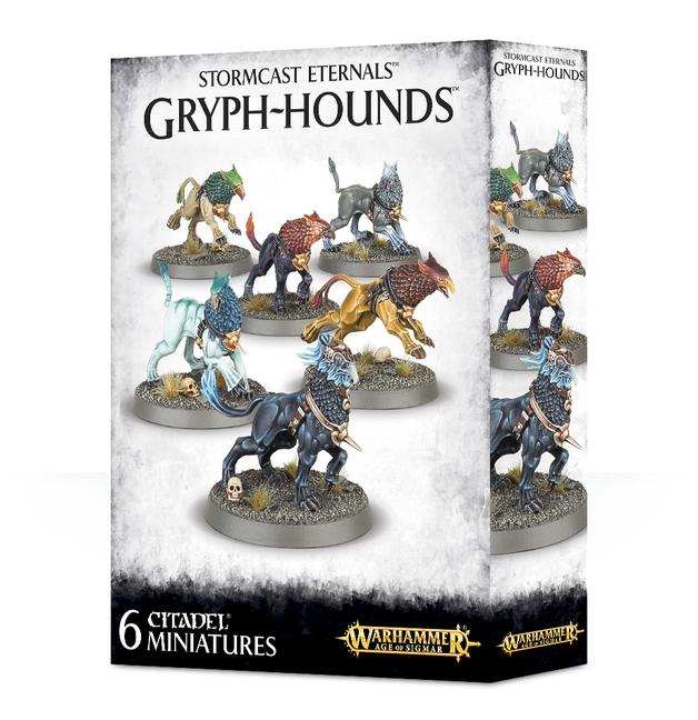 Warhammer Stormcast Eternals Gryph-hounds