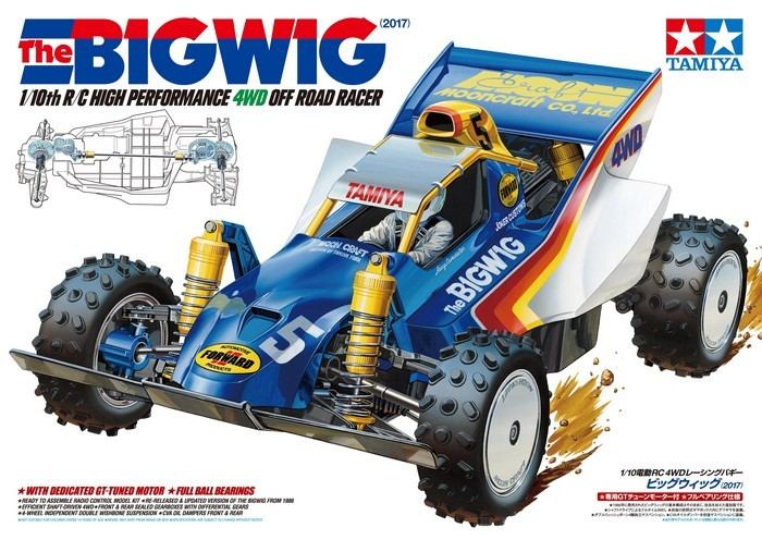 Tamiya 1:10 RC The Bigwig 2017 Kit image