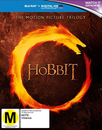 The Hobbit Trilogy on Blu-ray
