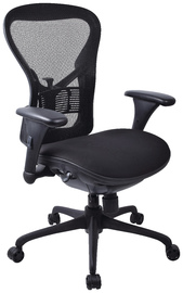 Workpro Operator Slide Mesh Back Chair (Black)