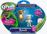 QPeas: Posable Mini Dolls - 3-Pack (Mira & Grace)