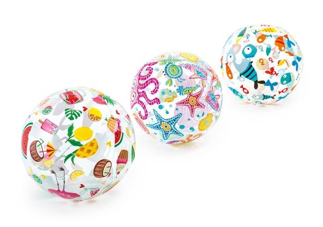 "Intex: Lively Print - 20"" Beach Ball (Assorted Designs)"