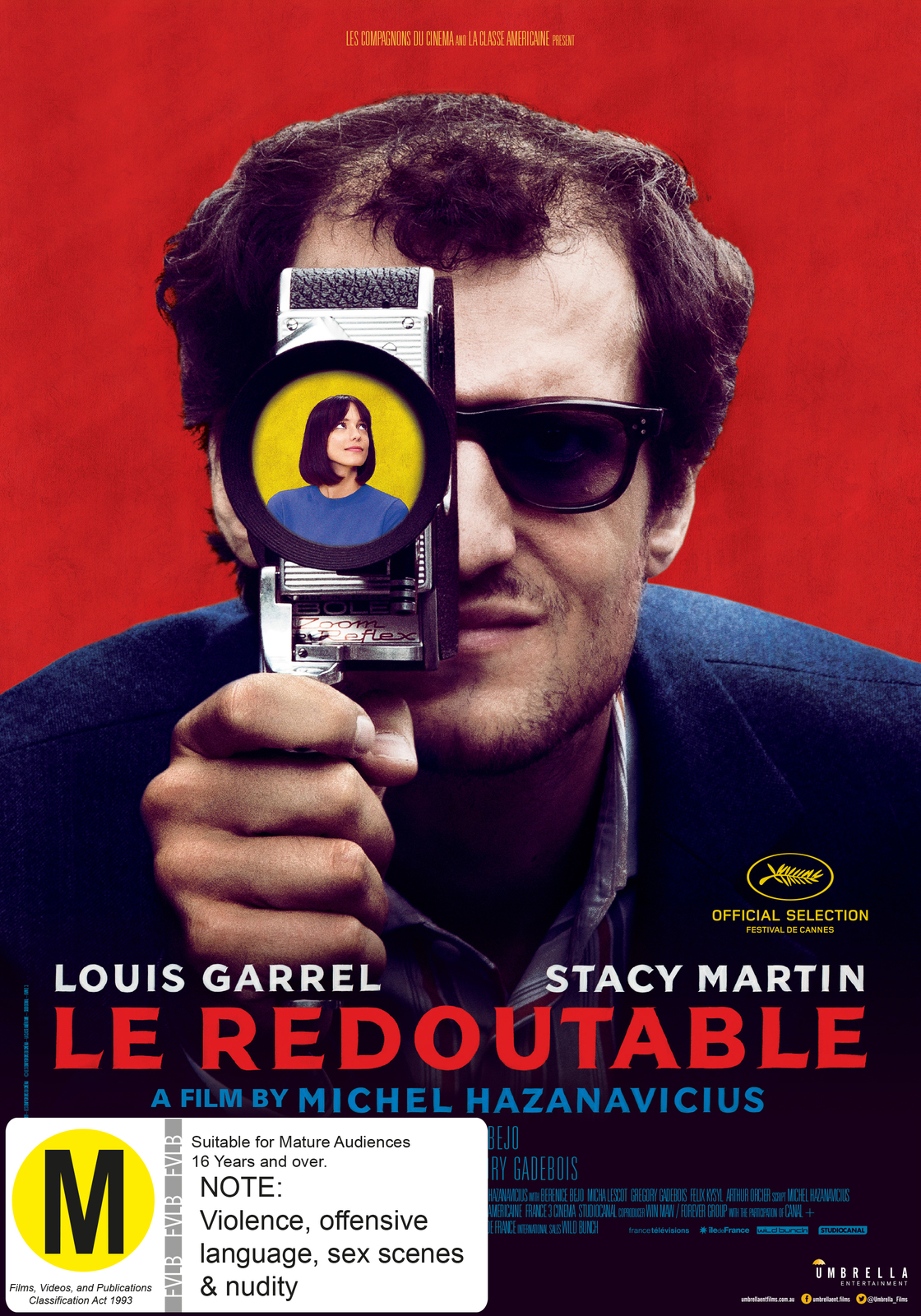 Le Redoutable on DVD image