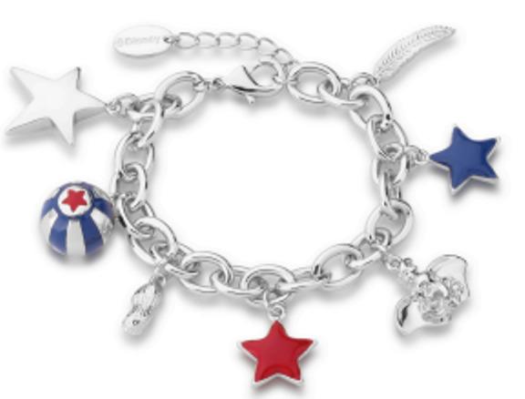 Couture Kingdom: Disney - Dumbo Charm Bracelet (White Gold)