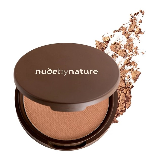 Nude By Nature: Mineral Pressed Powder - Dark (10g)