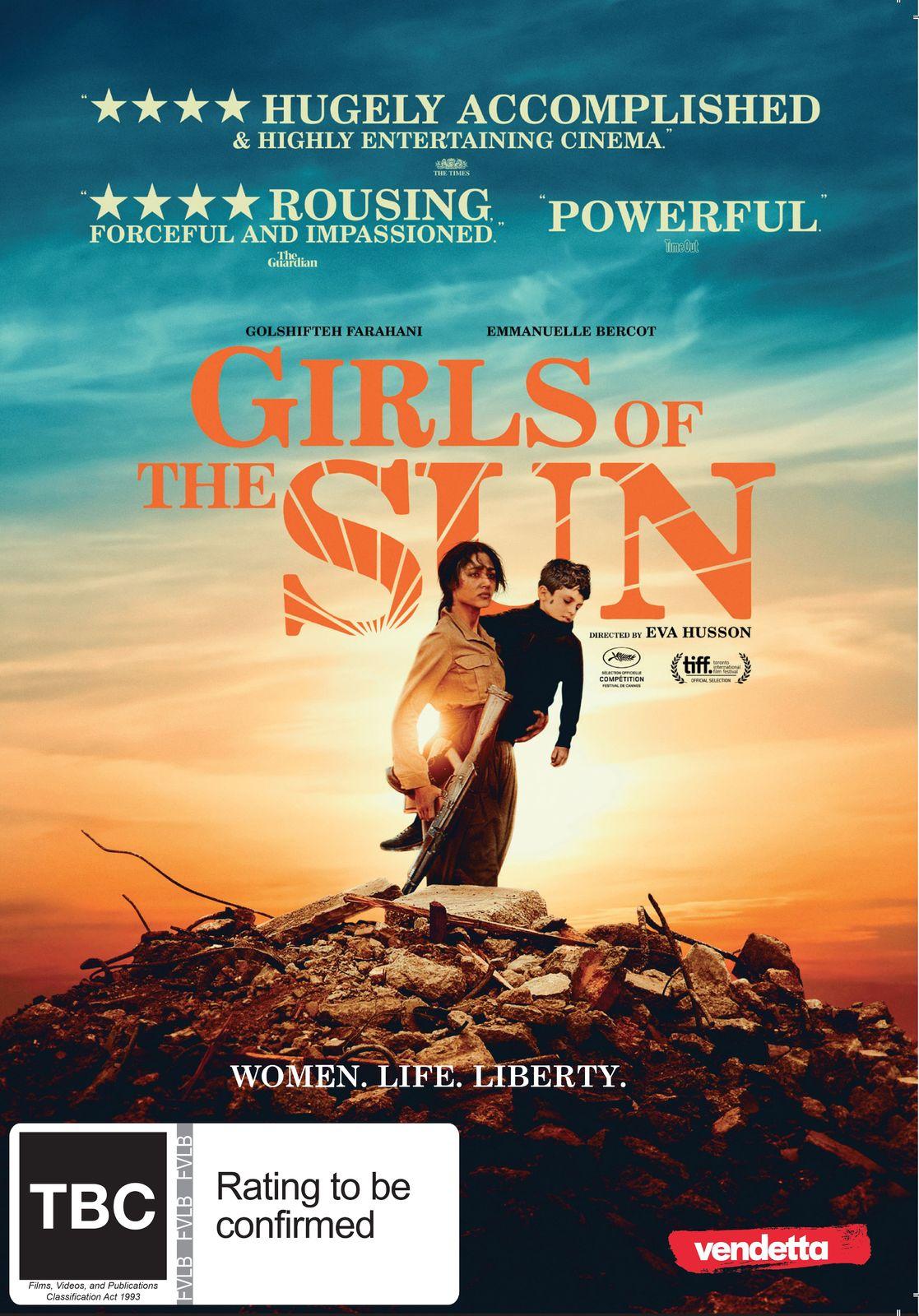 Girls of the Sun on DVD image