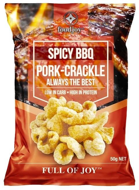Foodjoy Pork Crackle Spicy BBQ 50g