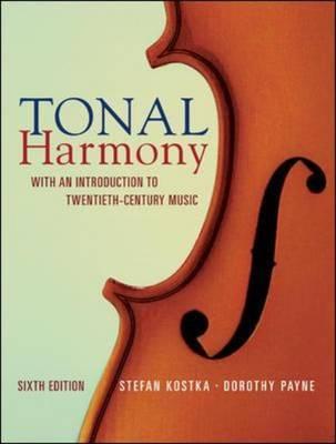 Tonal Harmony by Stefan Kostka image