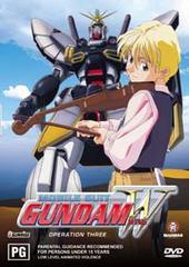 Gundam Wing Operation 3 on DVD