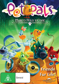 Pet Pals: Marco Polo's Code on DVD