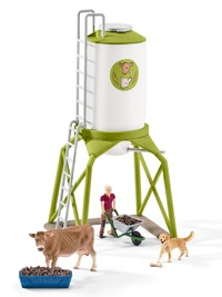 Schleich: Feed Silo With Animals