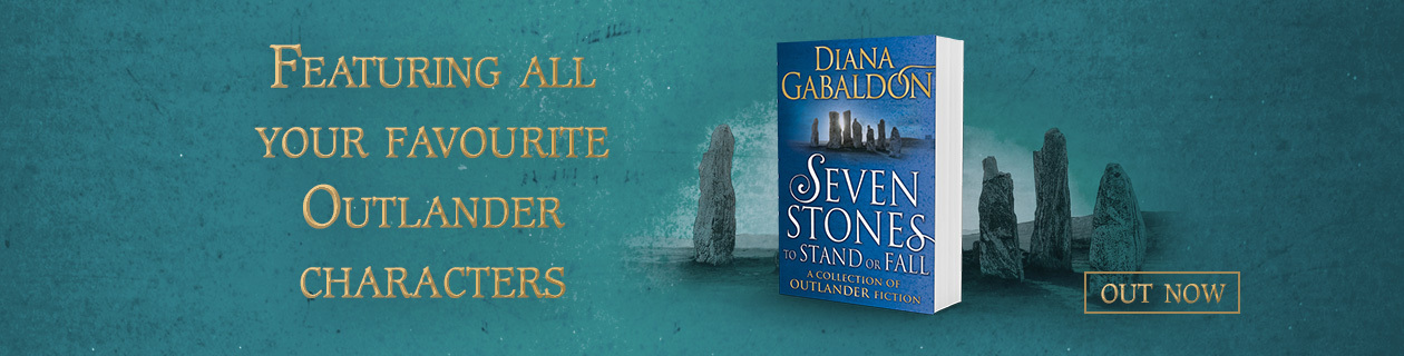 Diana Gabaldon's Seven Stones Out Now!