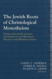 The Jewish Roots of Christological Monotheism image