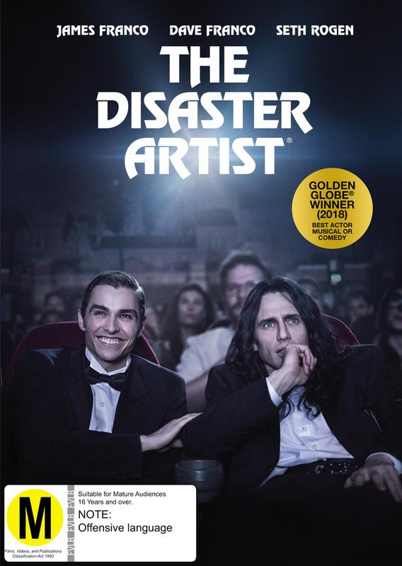 The Disaster Artist on DVD