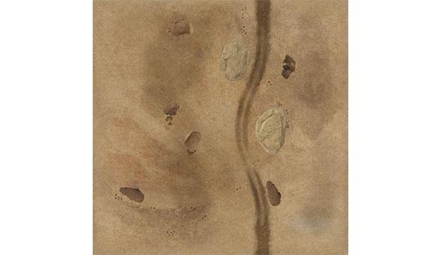"TANKS: Italian Desert Rocky Ground Game Mat (36"" x 36"")"
