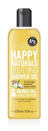 Happy Naturals Monoi Oil & Shea Butter Soothing Shower Oil (250ml)