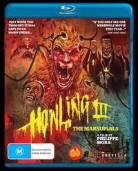 Howling III: The Marsupials on Blu-ray