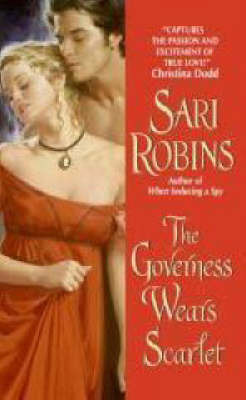 The Governess Wears Scarlet by Sari Robins image