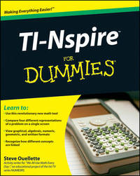 TI-Nspire For Dummies by Steve Ouellette image