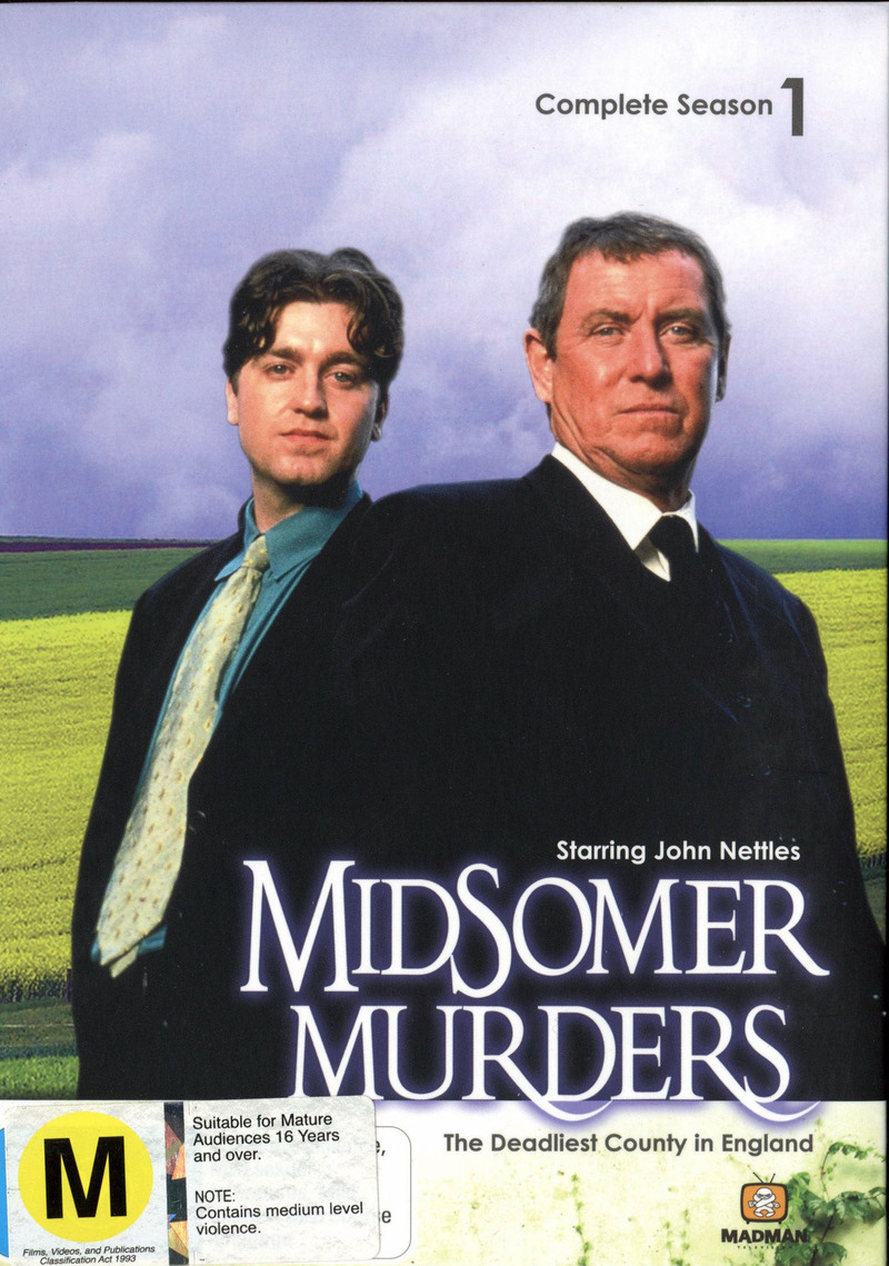 Midsomer Murders - Complete Season 1 (3 Disc Set) on DVD image