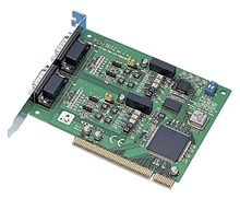 Advantech 2 Port PCI RS-422/485 Comms Card + SUR + OPT