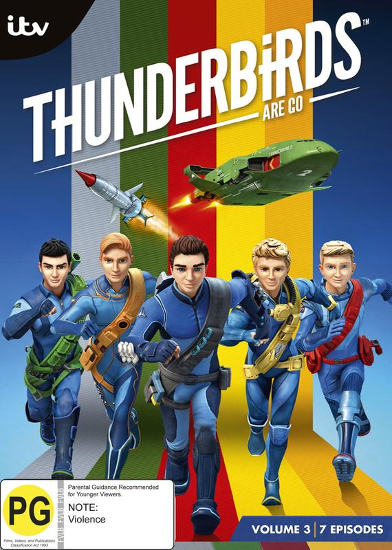 Thunderbirds Are Go: Volume 3 on DVD