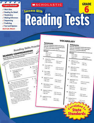 Reading Tests, Grade 6 image