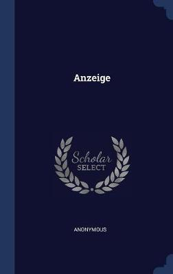 Anzeige by * Anonymous