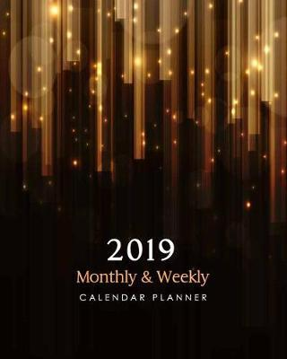 2019 Monthly and Weekly Calendar Planner by Michelia Creations