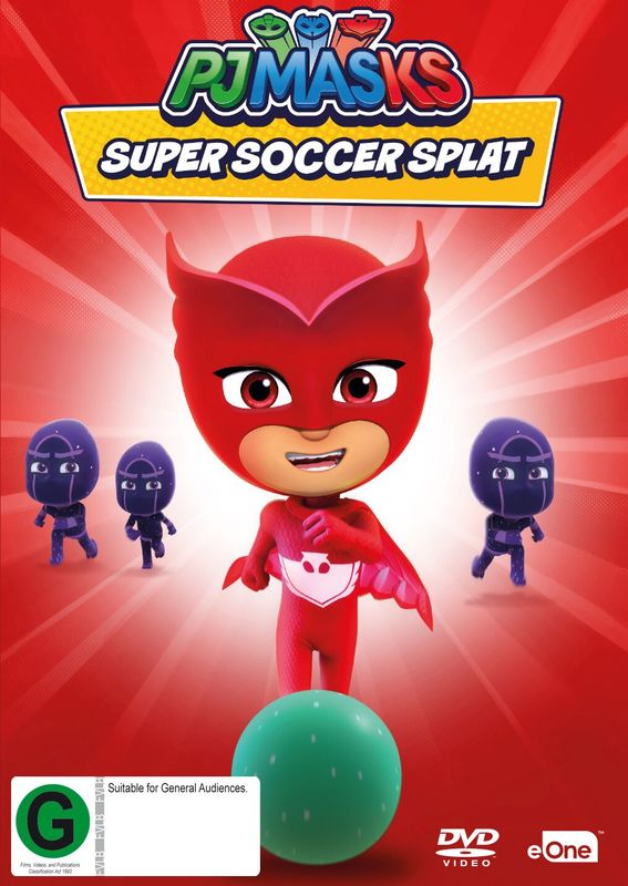 PJ Masks: Super Soccer Splat on DVD