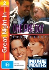 One Fine Day / Nine Months (2 Disc Set) on DVD