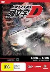 Initial D - Vol 13 - Battle of the Souls on DVD