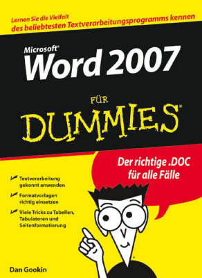 Word 2007 Fur Dummies by Dan Gookin