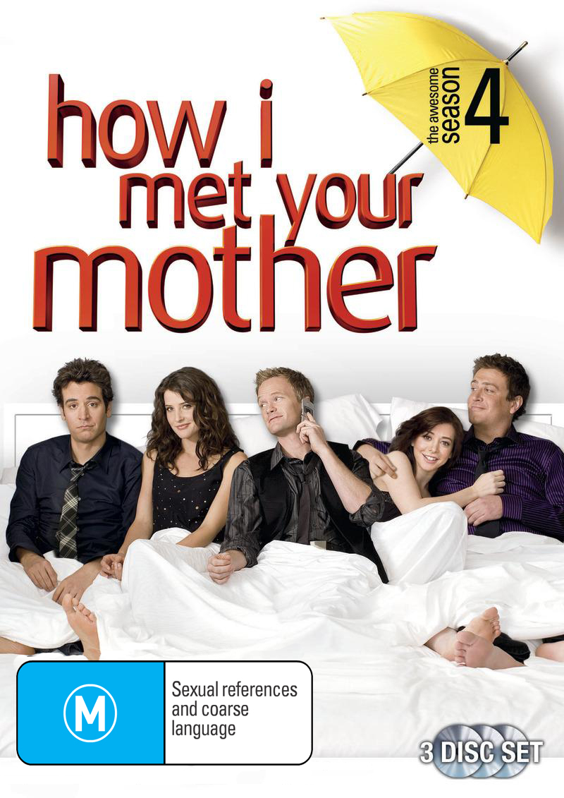 How I Met Your Mother - Season 4 on DVD image