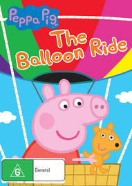 Peppa Pig: Balloon Ride on DVD