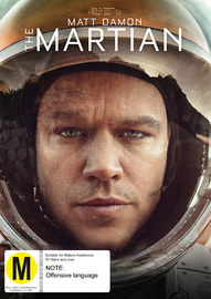 The Martian on DVD
